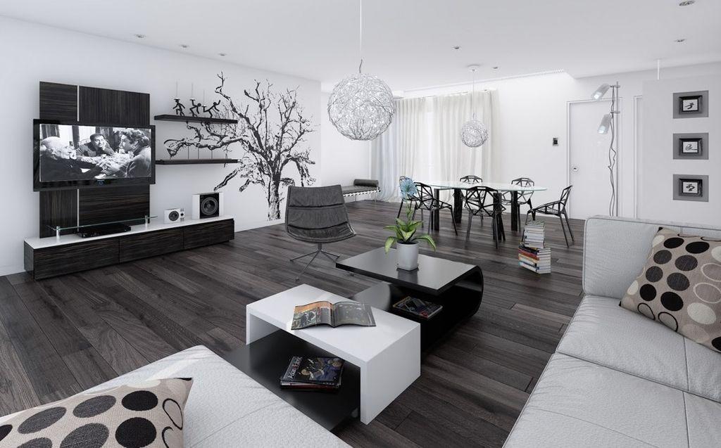 Мебель должна быть простой формы и без узоров