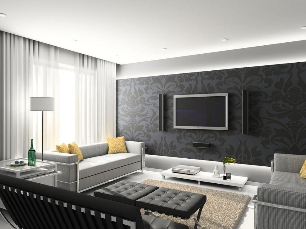 Однотонную расцветку интерьера и отделки можно дополнить яркими деталями и аксессуарами
