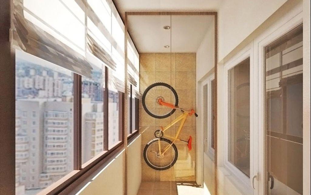Как правильно обустроить места хранения на балконе
