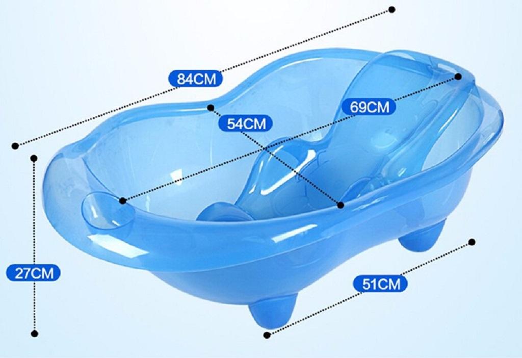 Для малышей используются специальные ванночки