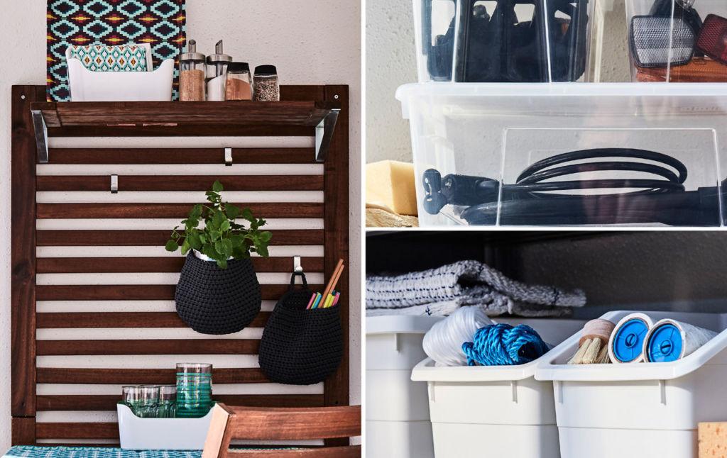Весной самое время разобрать склад старых вещей на балконе и найти ему более подходящее применение
