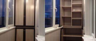 Подробная инструкция по самостоятельной сборке надежного шкафа на балкон