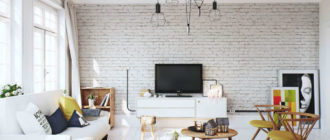 Как оформить красивую гостиную в скандинавском стиле (18 фото)