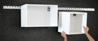 5 способов надежно повесить кухонный шкаф на гипсокартонную стену