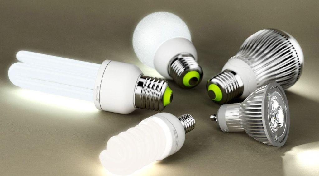 Для освещения спальни используются различные виды лампочек: галогенные, накаливания, люминесцентные, светодиодные