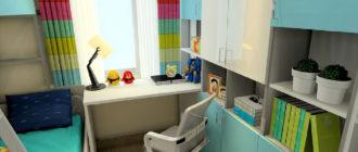 Как превратить маленькую комнату в уютную детскую (16 фото)