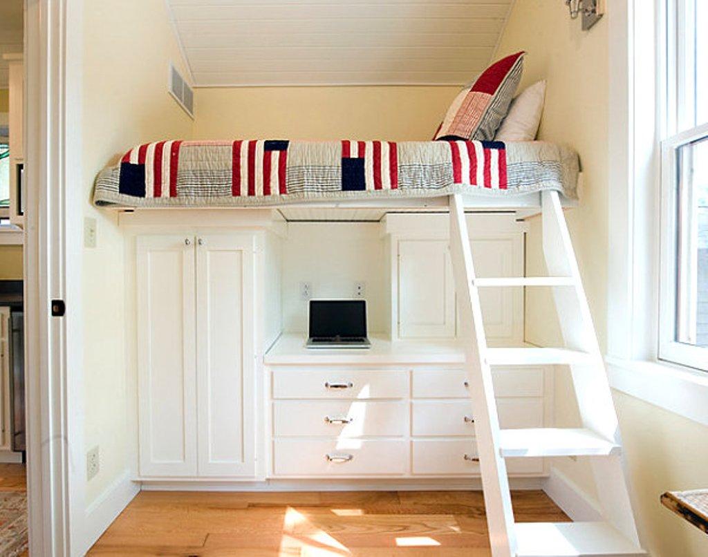 Дизайн кровати может быть уникальным