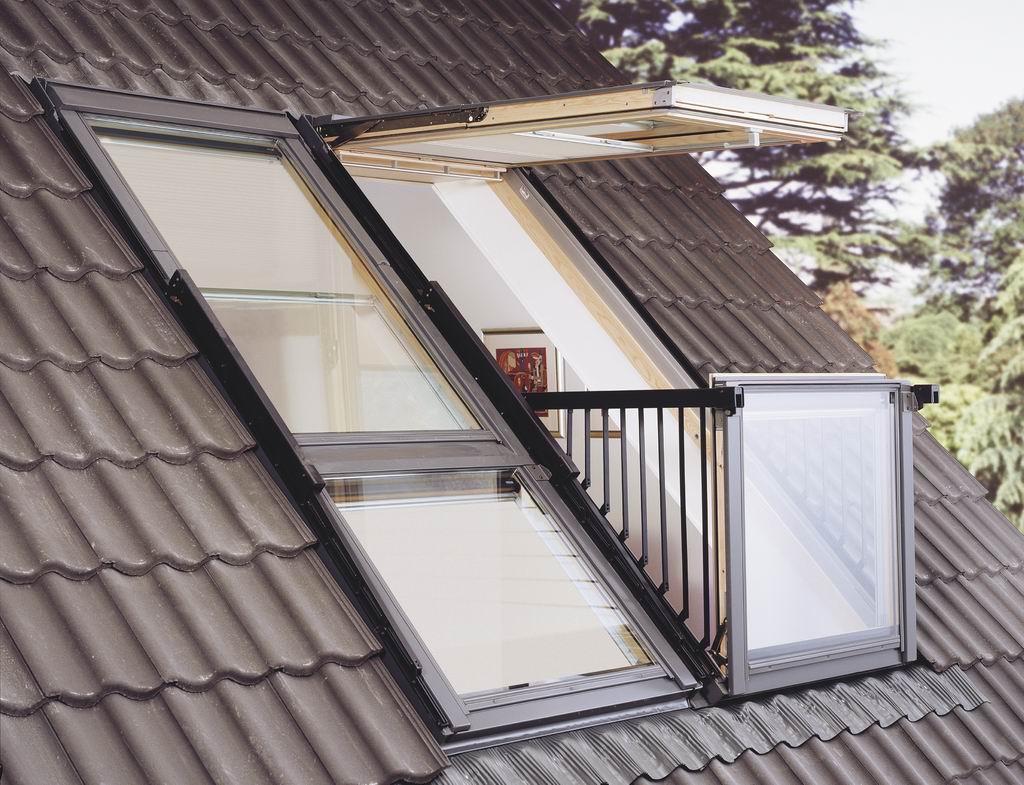 Окна-балкон Относительно легкий способ организовать прямой выход на свежий воздух из дома