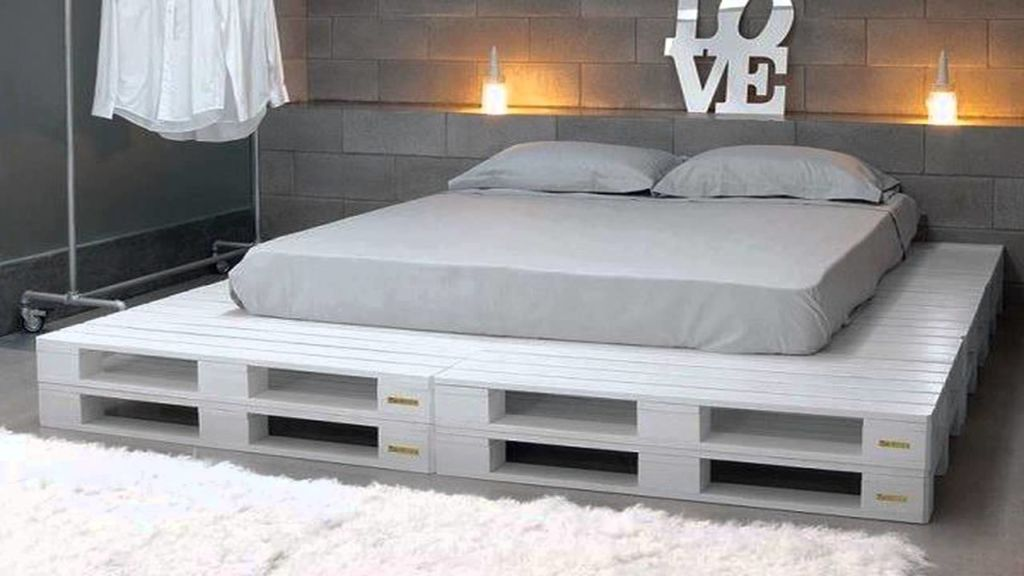 Пошаговая инструкция, как сделать кровать из деревянных поддонов