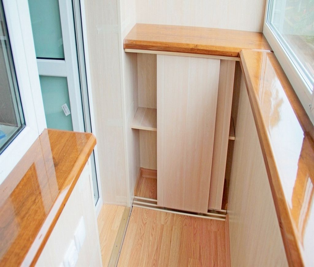 Встроенная мебель позволяет увеличить количество мест для хранения вещей