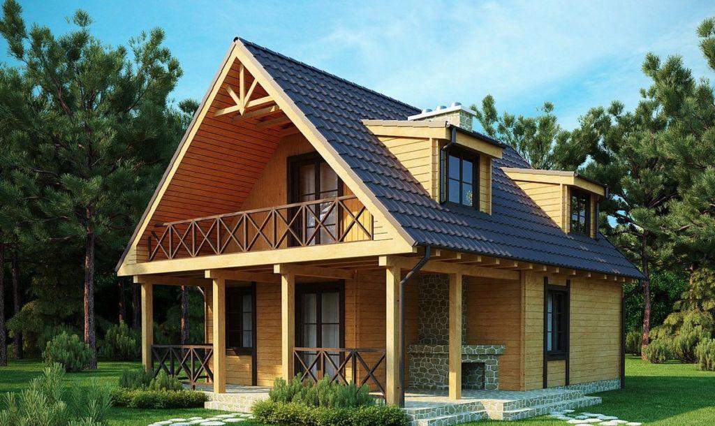 Такое строительное решение пользуется популярностью, поскольку расширяет жилое пространство
