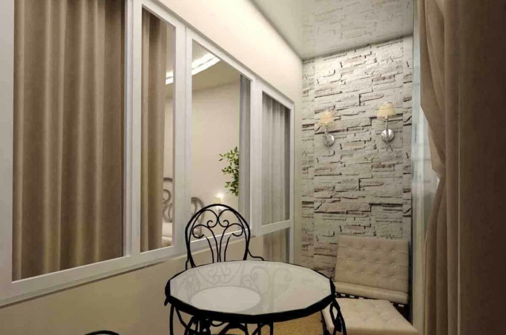 8 материалов, подходящих для отделки балкона