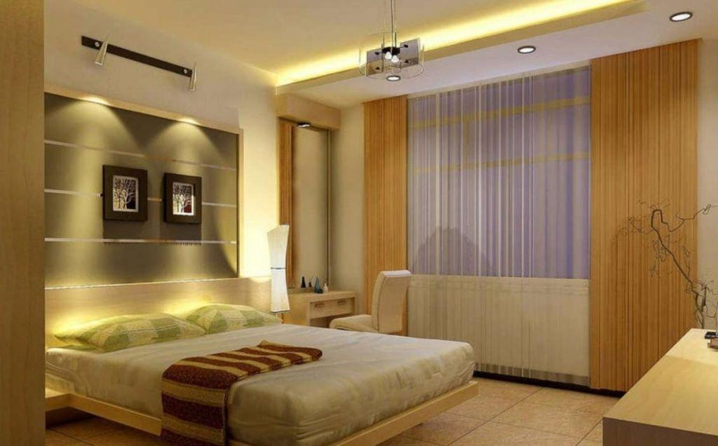 Самым идеальным вариантом для спальных апартаментов будет ровное и рассеянное освещение