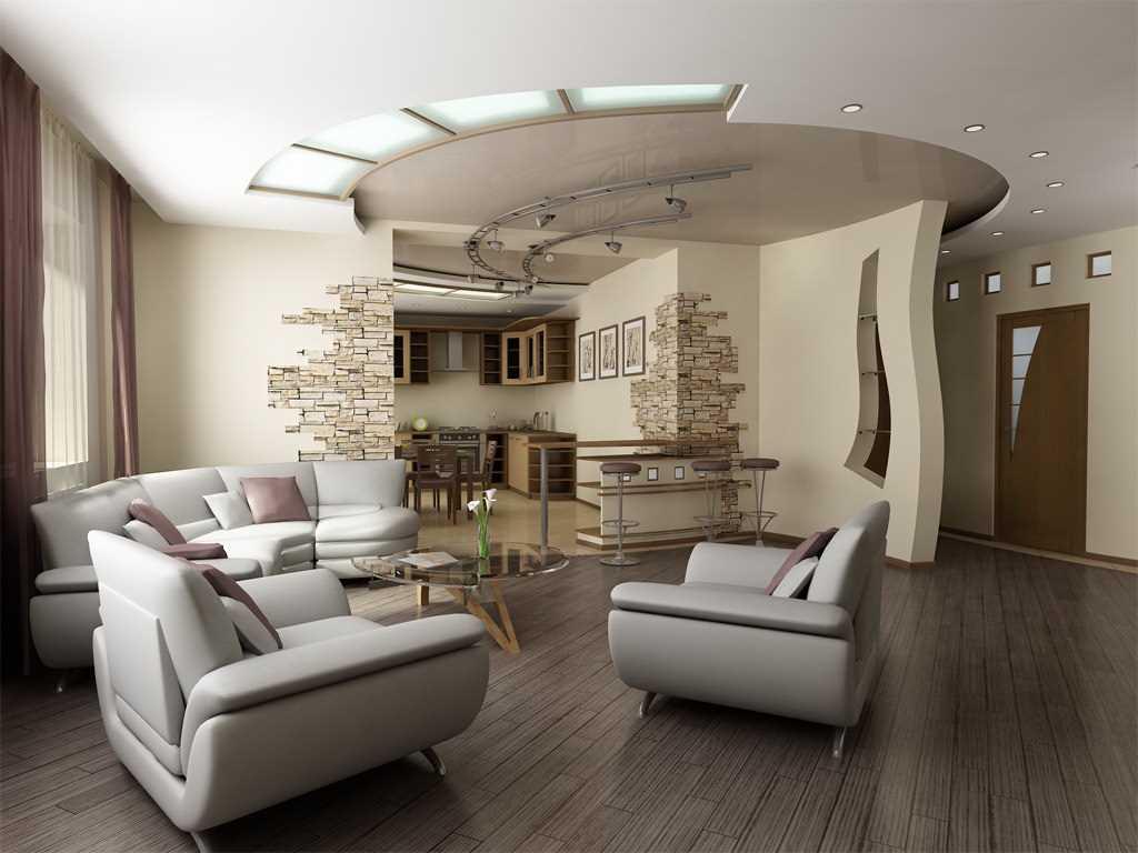 Для минимализма характерен минимум мебели