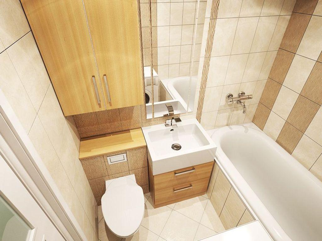Совмещенный санузел предполагает размещение в одном компактном помещении унитаза, раковины и ванны