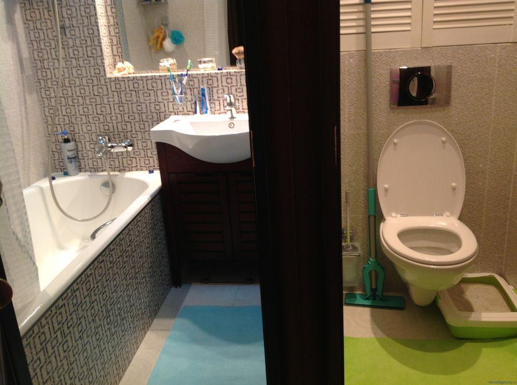 Раздельный санузел и ванная независимы друг от друга, что является несомненным плюсом в быту
