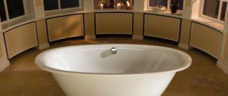 Плюсы и минусы каждого из 4 популярных видов ванн