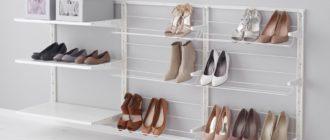 9 идей, как правильно организовать хранение обуви в гардеробной