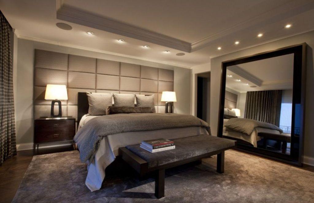Специалисты утверждают, что в темных спальнях необходимо размещать большое количество зеркал