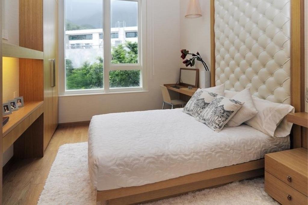 Как уместить красивую и комфортную спальню на 10 квадратах (10 фото)