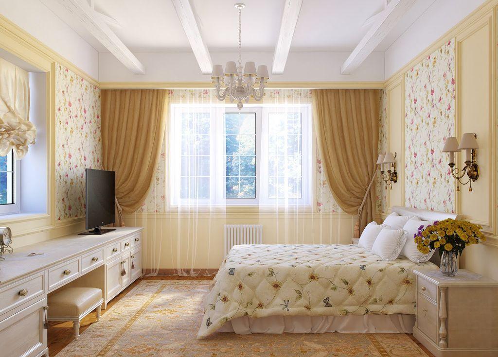 В стиле прованс он будет отлично сочетаться с деревянными поверхностями
