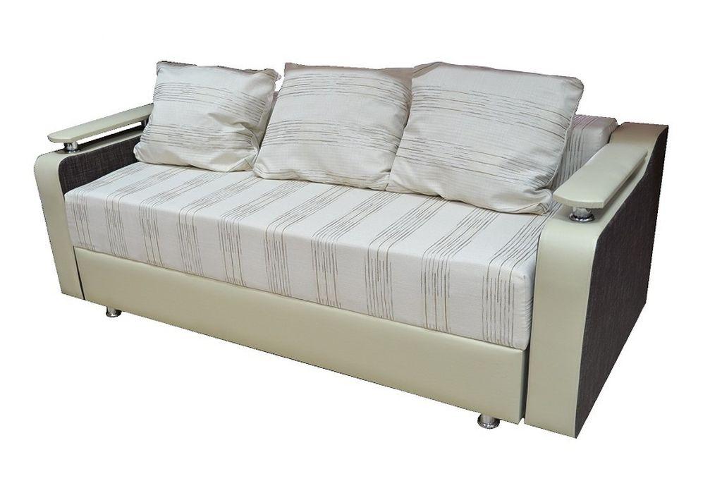 Евротахта больше похожа на диван и в разложенном состоянии вмещает два человека