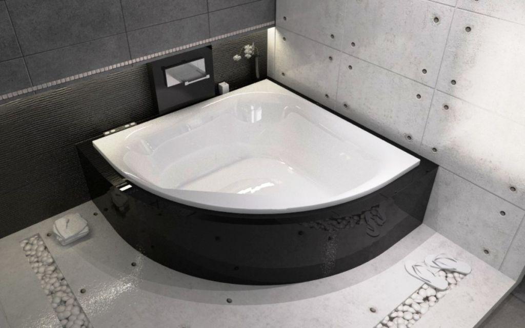Угловая ванна невероятно популярна ввиду высокого удобства, практичности, долговечности, внешней привлекательности