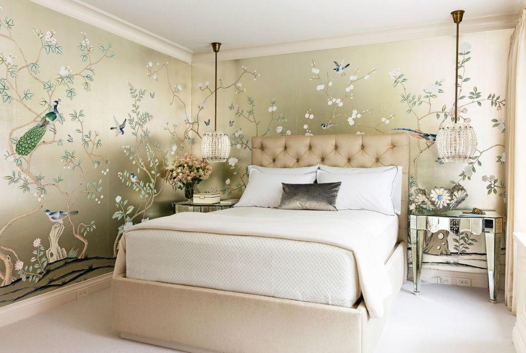 7 стилей обоев, которые идеально подойдут для спальни