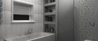Сантехнические жалюзи для ванной