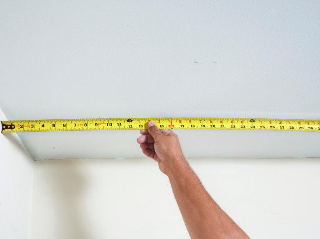 Для получения точного размера, следует выполнять замеры в нескольких точках