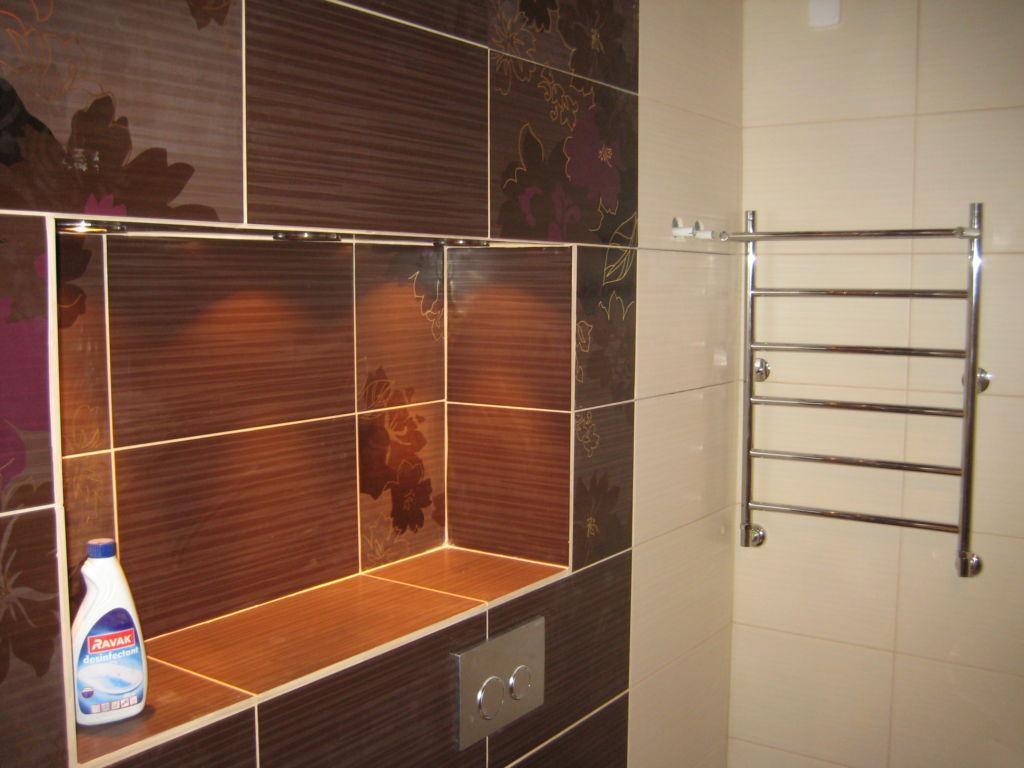 Ниша в ванной – это функциональный архитектурный элемент, который сделает дизайн комнаты интересным