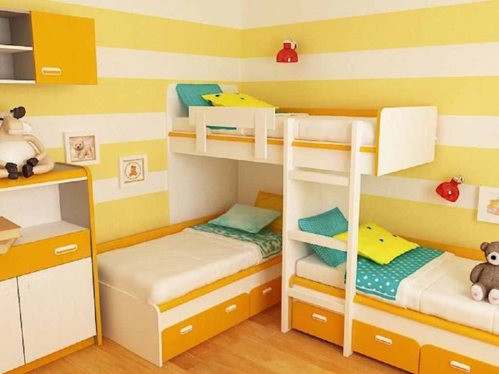 Желтый цвет - универсальный, поэтому в нем комфортно себя чувствуют дети любого возраста