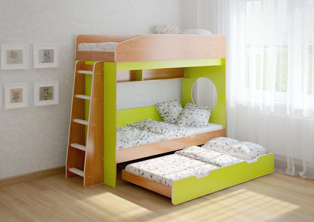 Детские кроватки изготавливают из прочных и безопасных материалов