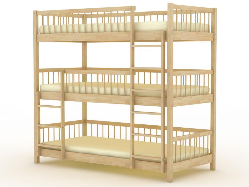 Многоярусная кровать