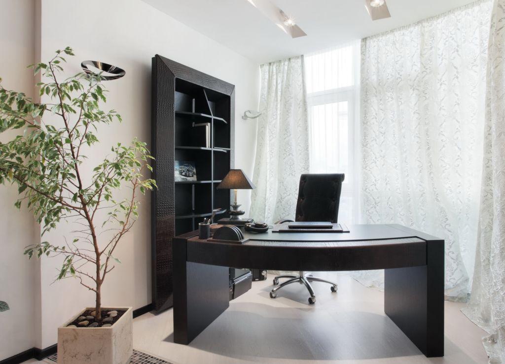 Домашний офис предназначен для работы, при оформлении пространства учитывают пол человека