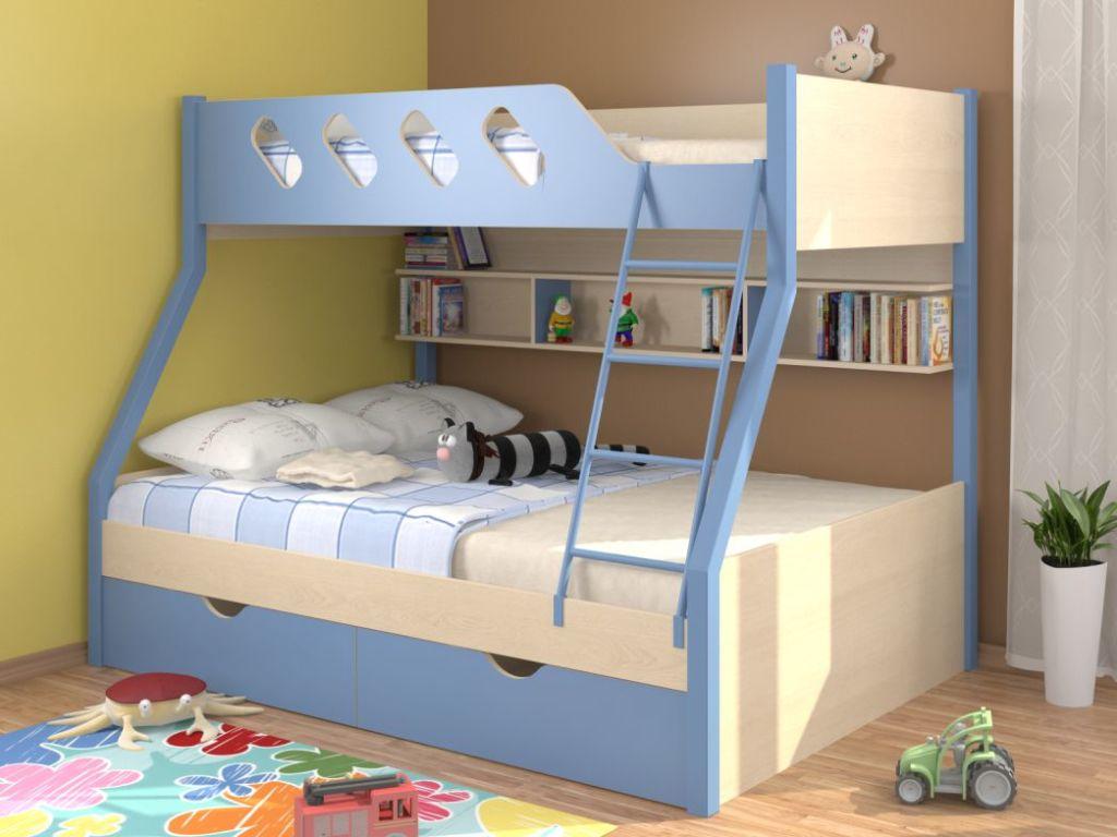 В основном такую мебель используютв детских комнатах
