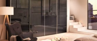 Гостинные шкафы в современном стиле