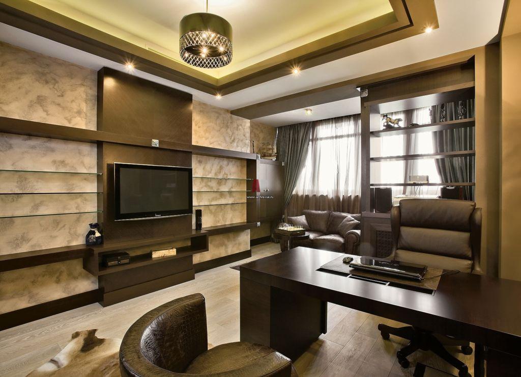 В зависимости от того, какие функции будут возложены на помещение, которое будет называться кабинетом, следует формировать и его обстановку