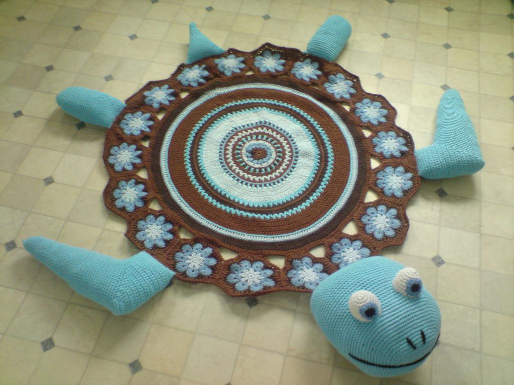 Детский коврик для ванной комнаты
