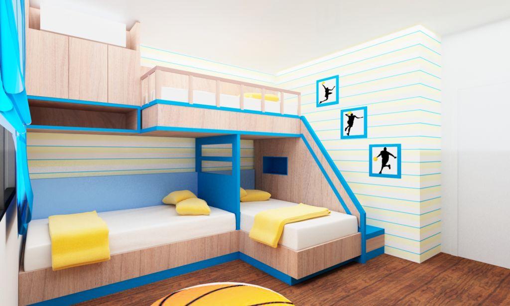 Плюс и минусы 3 популярных моделей кроватей для троих детей