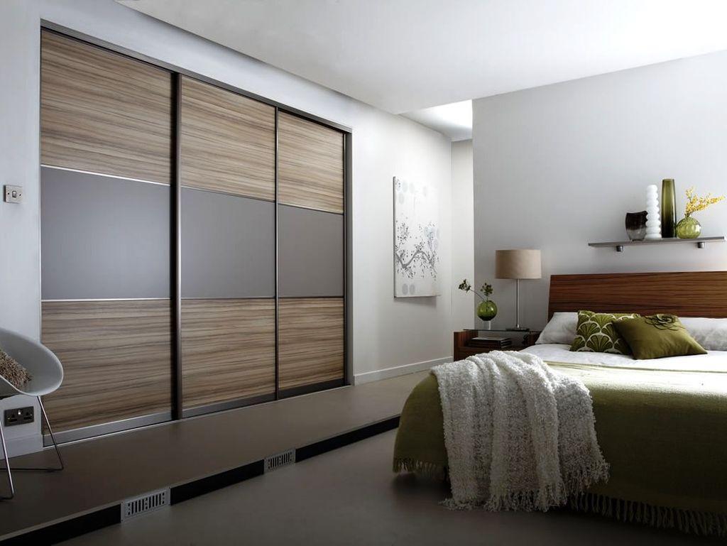 Если в комнате есть ниша, то идеально разместить шкаф-купе именно в ней