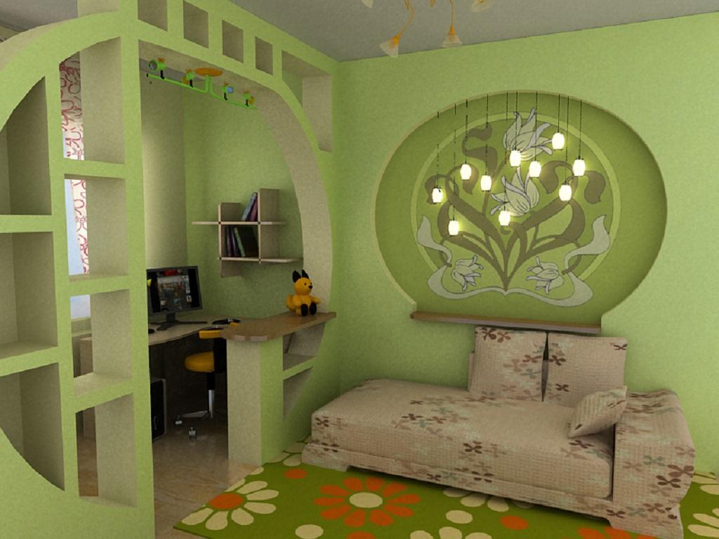 Дизайн комнаты для родителей и ребенка