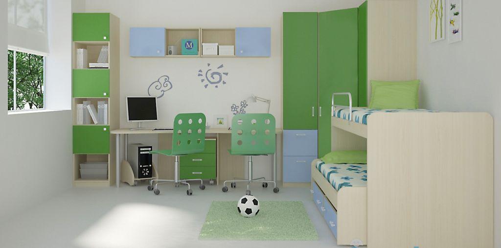 Как правильно выбрать удобный письменный стол для двоих детей