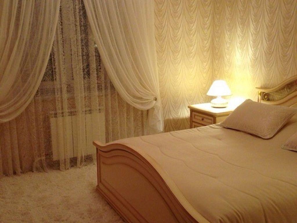 Тонкие вуалевые шторы чаще всего применяют как дополнение к гардинам