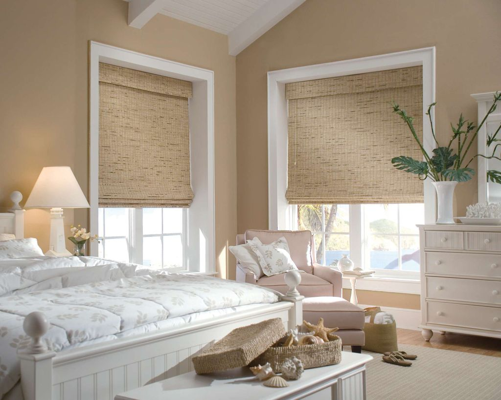 Римские шторы выбираются по размеру окна