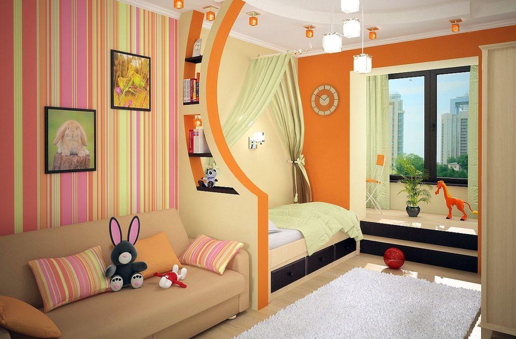 6 способов удобно разделить комнаты на детскую и взрослую зону