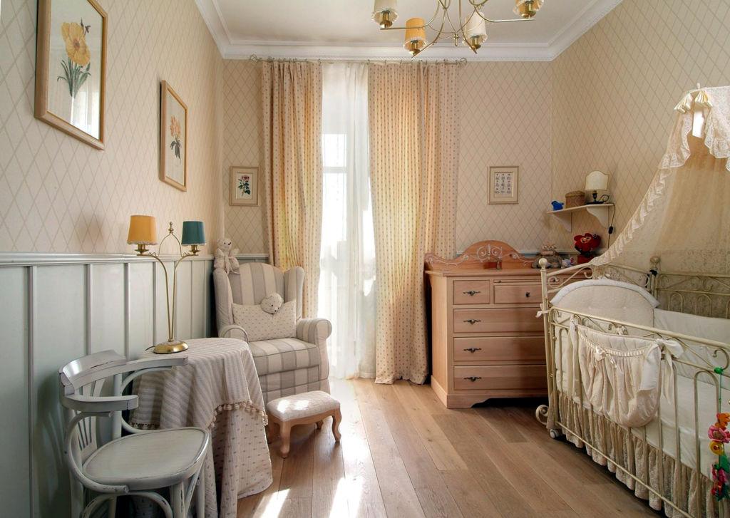 Идеи дизайна детской комнаты для новорожденной девочки